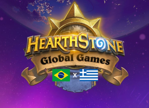 De virada, Brasil vence Grécia no Hearthstone Global Games