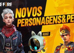Dois novos personagens são anunciados para o Free Fire