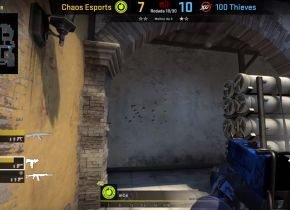 Jogador da Chaos Esports ironiza polêmica de cheat durante partida da cs_summit 6