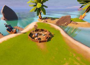 Veja como completar a missão secreta de Fortnite: Coralinos – A idade da madeira