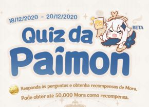 Genshin Impact: Todas as respostas do Quiz da Paimon