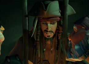Sea of Thieves: DLC gratuita trará os Piratas do Caribe aos mares do game; veja quando lança