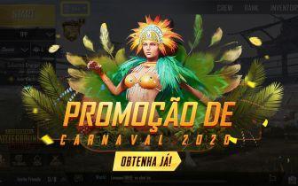 Evento de carnaval chega ao PUBG Mobile