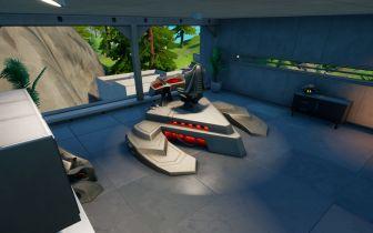 Localização do apartamento do Predador na Casa da Caçada em Fortnite
