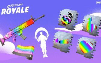 Itens gratuitos são adicionados na loja de Fortnite em comemoração ao Orgulho LGBTQIA+