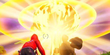 Como fazer o desafio secreto do Fortnite – Coralinos: Idade da Energia Nuclear