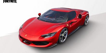 Carro da Ferrari é adicionado em Fortnite; veja a localização deles