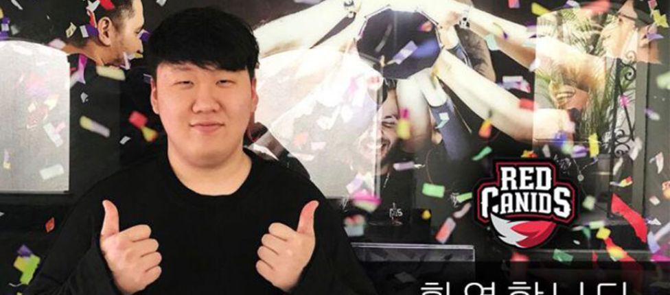 Coreano M1rage é anunciado como a nova contratação da Red Canids
