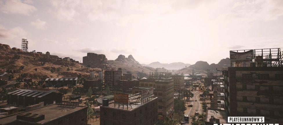 Novas imagens do mapa de deserto de PUBG