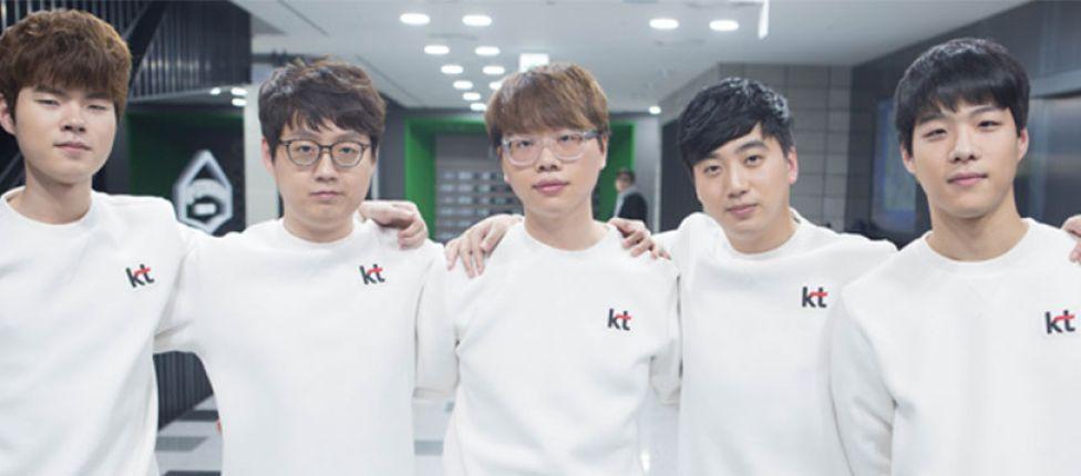 Jogadores da KT Rolster carregarão tocha olímpica na Coreia do Sul