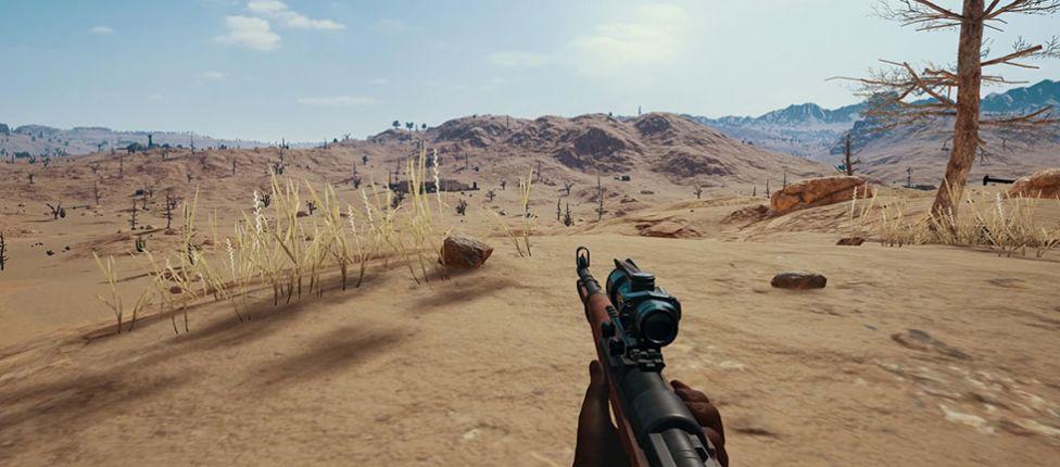 Simulador para treinar o tiro à longa distância com a Kar98K