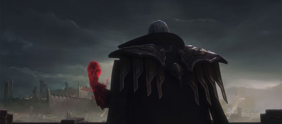 League of Legends lança teaser mostrando o rework do campeão Swain