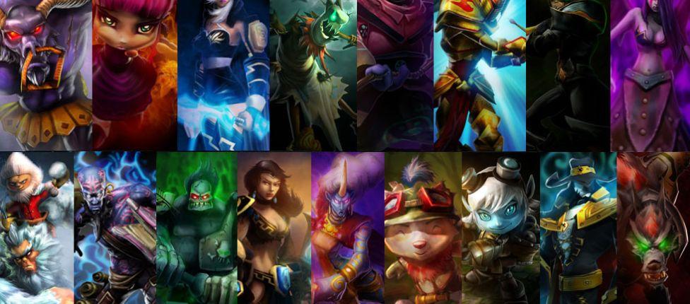 Completa hoje, 9 anos da criação dos 17 campeões originais de League of Legends; veja quais são