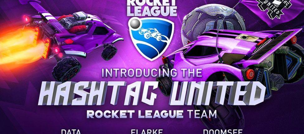 Hashtag United anuncia time de Rocket League