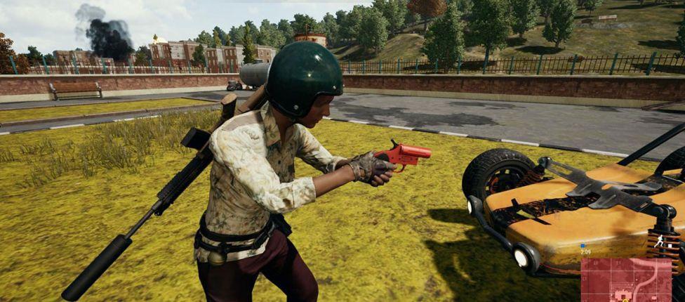 Pistola sinalizadora é adicionada nas partidas customizadas de PUBG