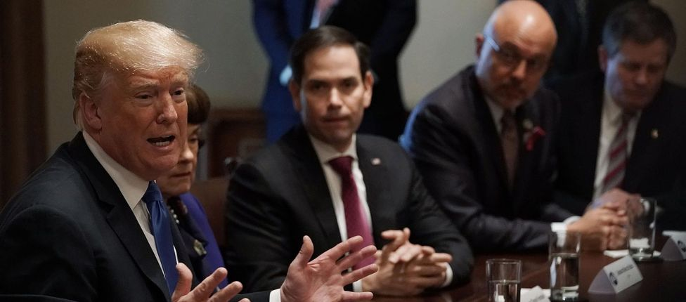 Trump diz que os jogos violentos são um problema nos Estados Unidos