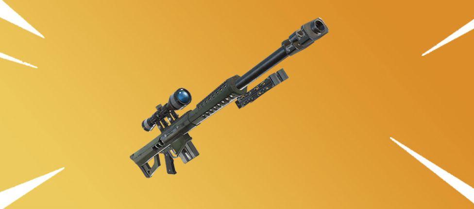 Nova sniper que perfura paredes pode estar chegando ao Fortnite