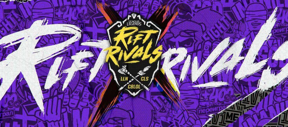 Começam amanhã os jogos da Rift Rivals 2018; Veja o cronograma