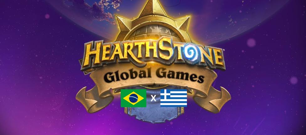 De virada, Brasil vence Grécia no Hearthstone Global Games