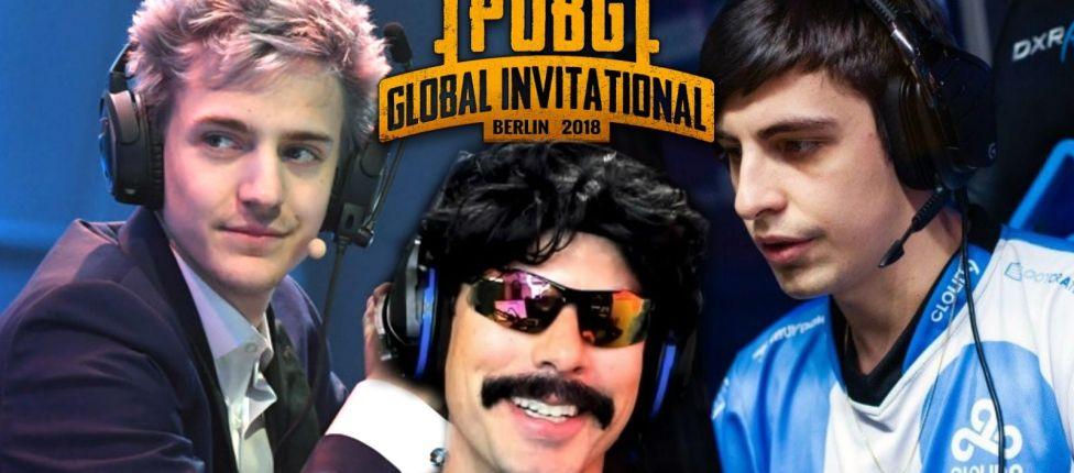 PUBG Charity Showdown valendo US$1 milhão contará com a presença de Ninja, Shroud, Dr DisRespect entre outros.