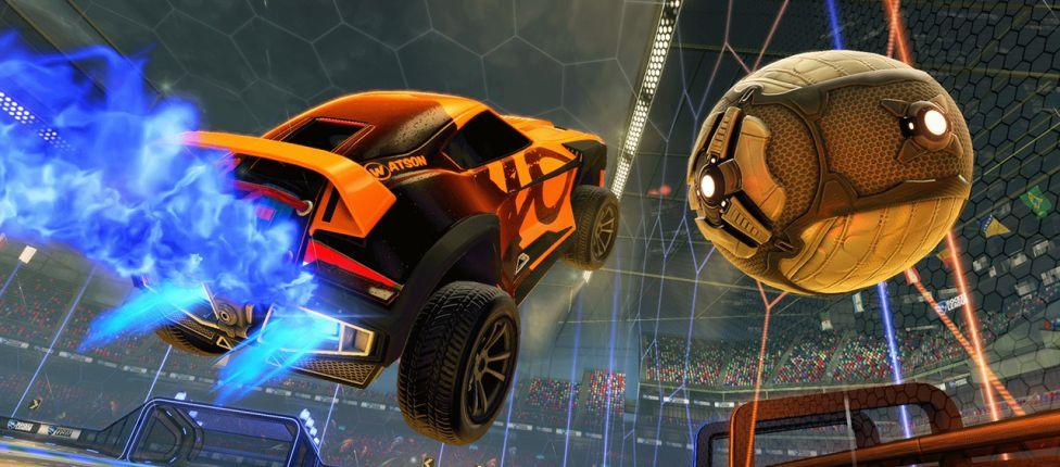 Jogador de Rocket League encontra nova mecânica três anos após lançamento do jogo