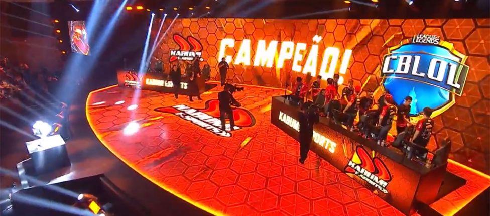 KaBuM! é a grande campeã do Campeonato Brasileiro de League of Legends 2018
