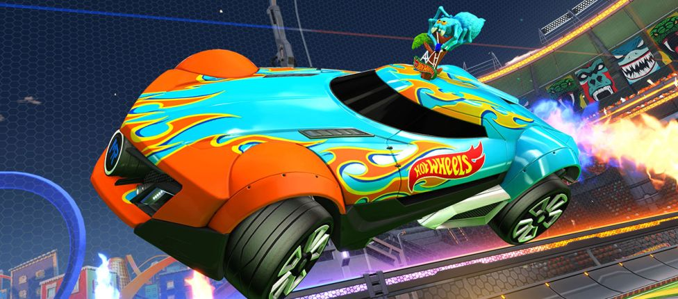 Novos carros da Hot Wheels chegarão ao Rocket League