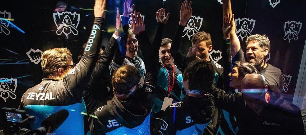 Em jogo de 47 minutos Cloud9 triunfa sobre Team Vitality e conquista primeira vitória no Mundial
