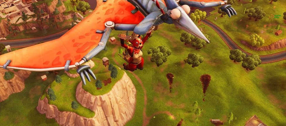 Epic Games pretende manter a reinstalação de asa-delta em todos os modos de jogo em Fortnite