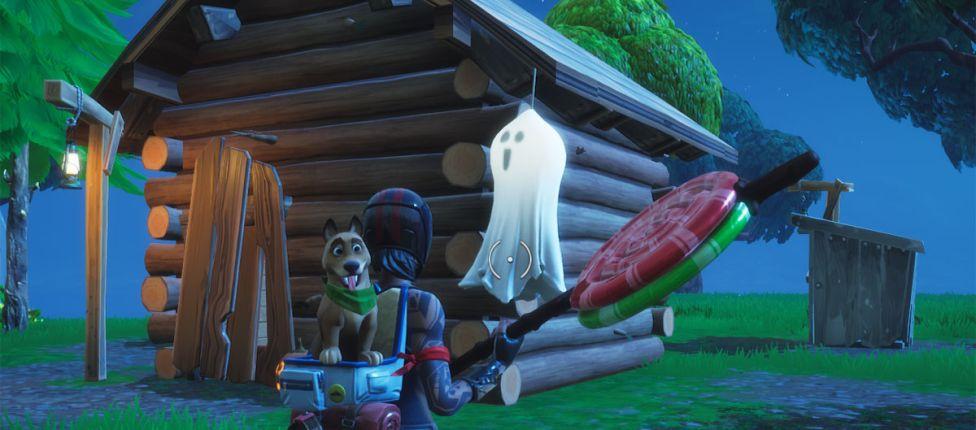 Fortnite: Localização das Decorações de Fantasmas