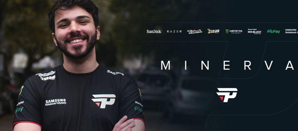 """""""Cheguei para trazer uma mentalidade diferente à equipe"""", diz Minerva ao ser anunciado pela paiN Gaming"""
