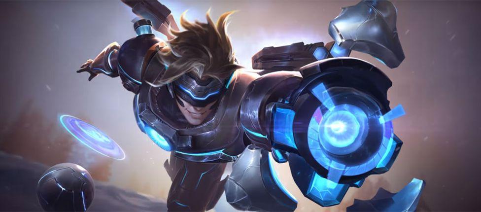 Riot Games publica nova tela de login que tem como destaque o novo visual da skin Pulsefire Ezreal