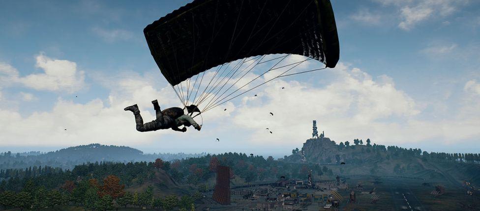 Melhorias nos paraquedas chegam aos servidores de teste do PUBG