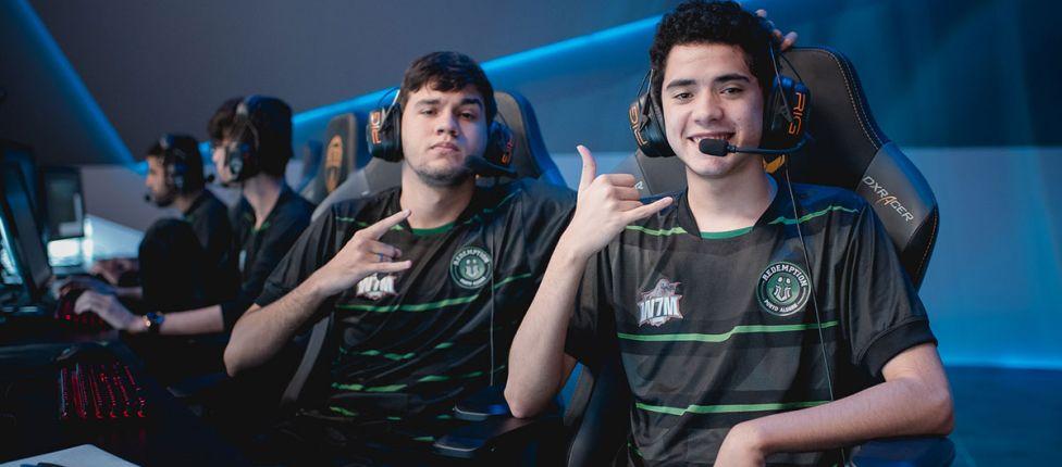 Em jogo truncado, Redemption vence CNB e-Sports no CBLoL