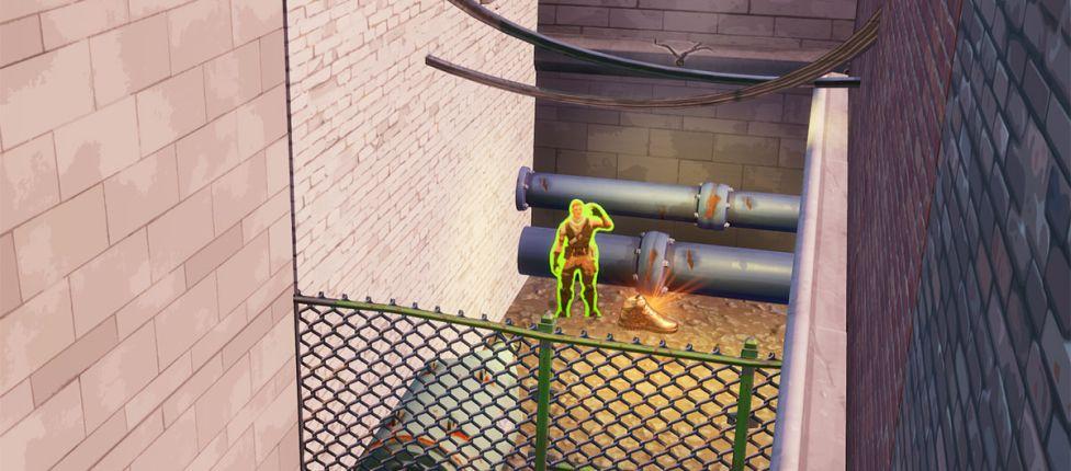 Onde encontrar o Jonesy atrás de uma cerca no Fortnite