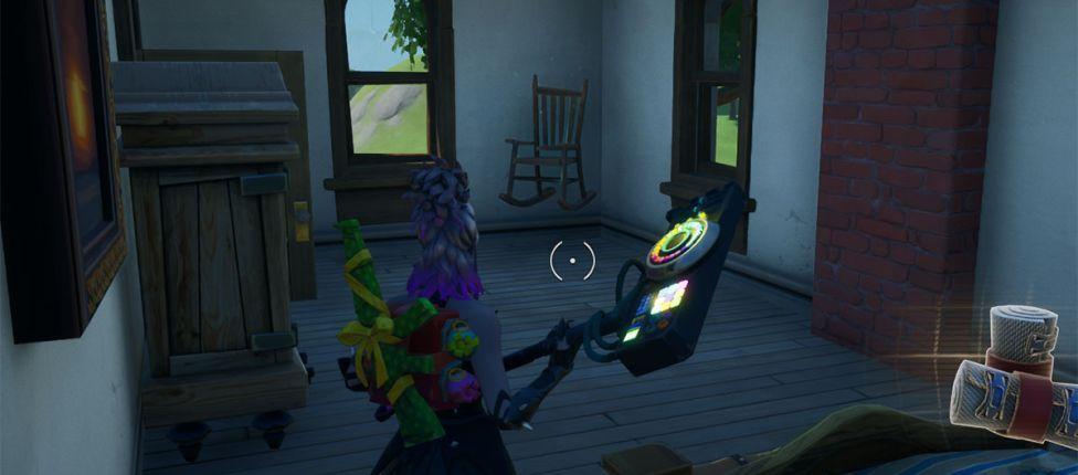 Como completar o desafio: Destrua móveis assombrados no Fortnite