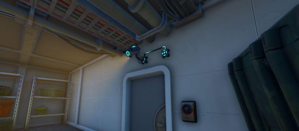 Localização das câmeras sentinela e torretas sentinela no Fortnite