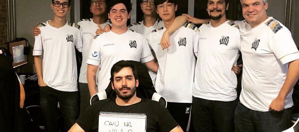 De virada, Santos conquista a vitória em cima da RED no Circuitão