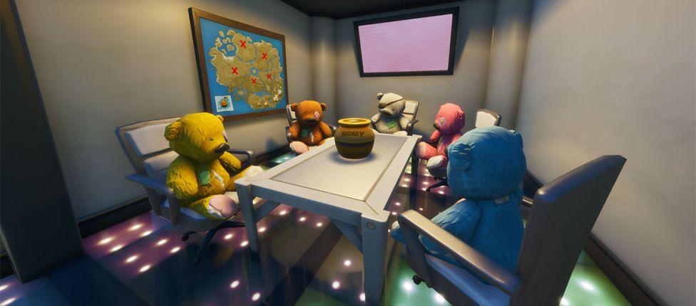 Desafio secreto do Fortnite: Localização dos planos ofensivos do Ted