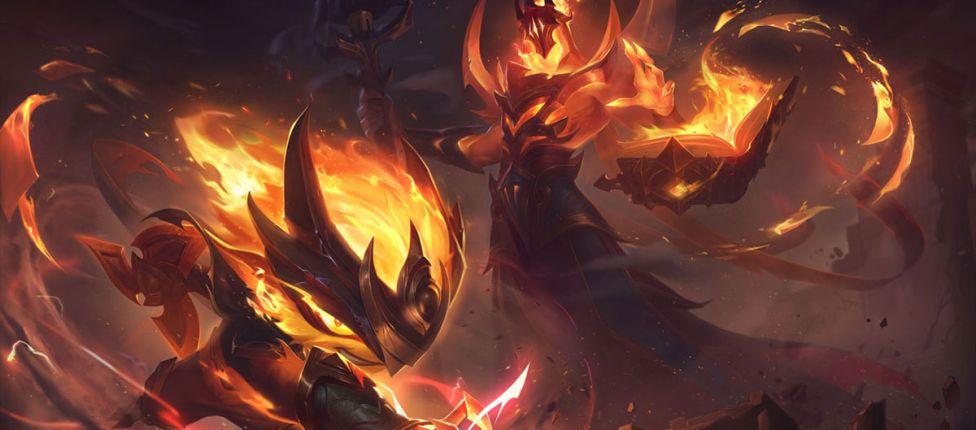 LoL: Novas skins da coleção Infernal são anunciadas
