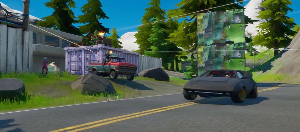 Quatro modelos diferentes de carros chegarão em breve ao Fortnite