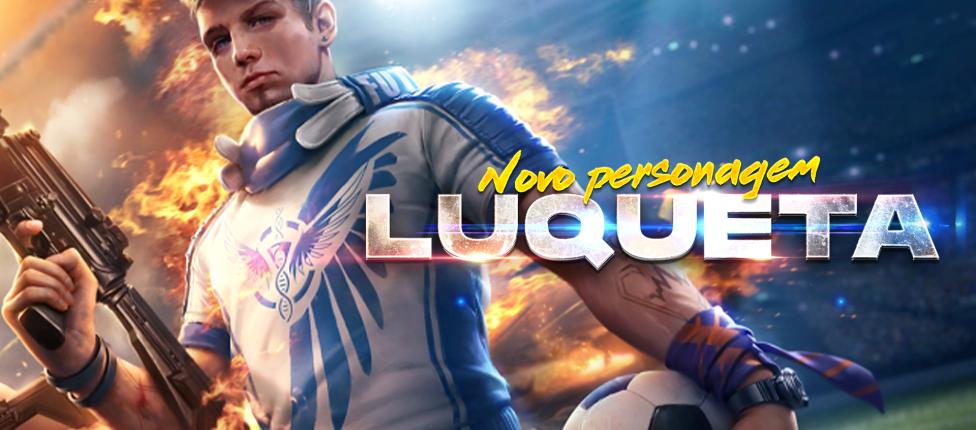 Luqueta é anunciado como o mais novo personagem de Free Fire