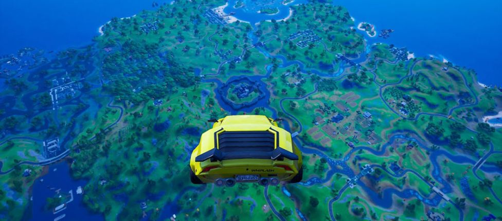 Bug bizarro faz carros voarem no Fortnite; veja como é feito