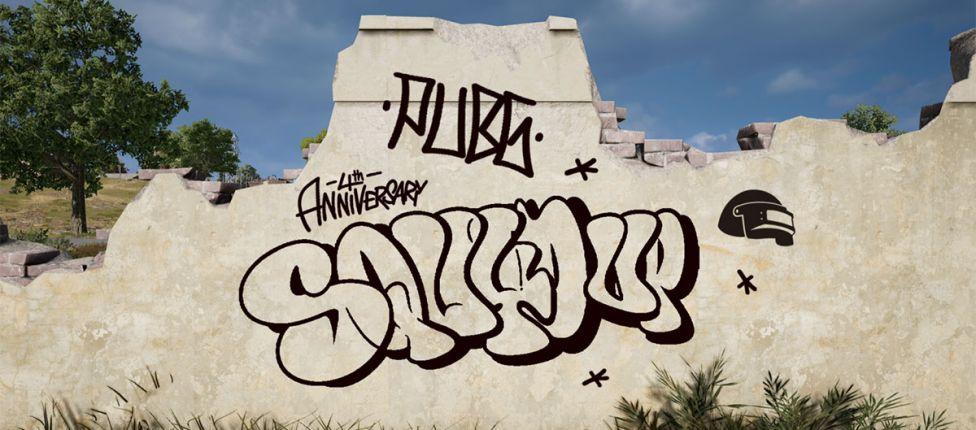 Para comemorar seu quarto aniversário, PUBG anuncia concurso de grafite