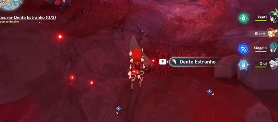 Genshin Impact: Onde encontrar Dente Estranho