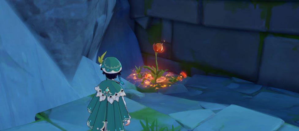 Genshin Impact: Onde encontrar Flor Flamejante