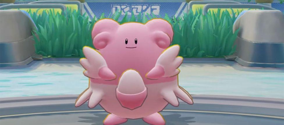 Blissey é lançada em Pokémon UNITE