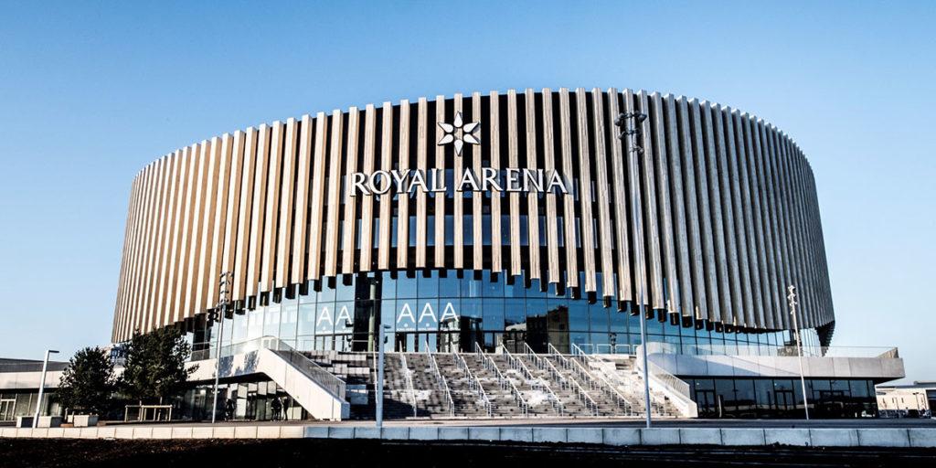 Moderna e sede de grandes shows e eventos, Royal Arena será o palco das finais da LCS.