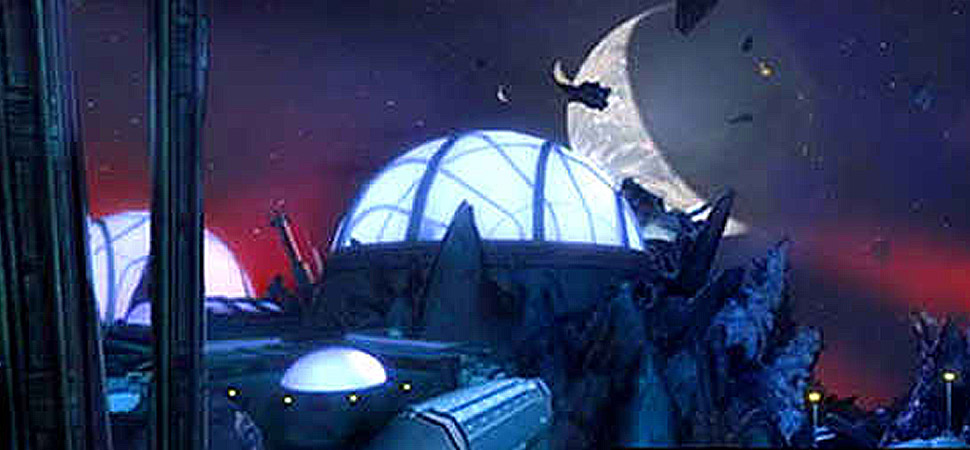 Estação Espacial do Palácio de Cristal (Imagem: Entropia)