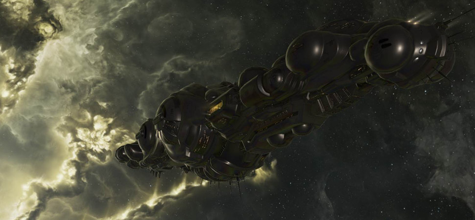 Revenant Supercarrier (Imagem: EVE Online)